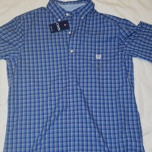 Nwt Chaps short sleeve button-down